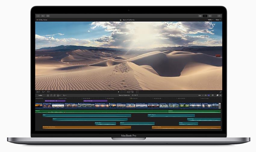 اپل مک بوک پرو با تاچ بار مدل mv972
