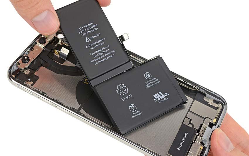تعویض باتری گوشی آیفون